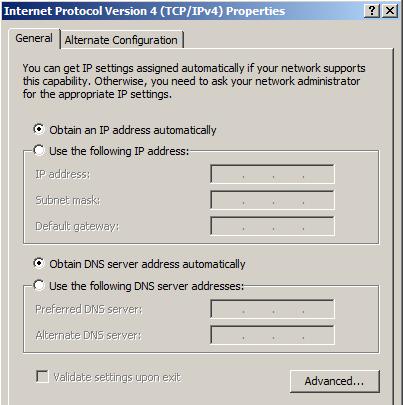 Internet Protocol Version 4