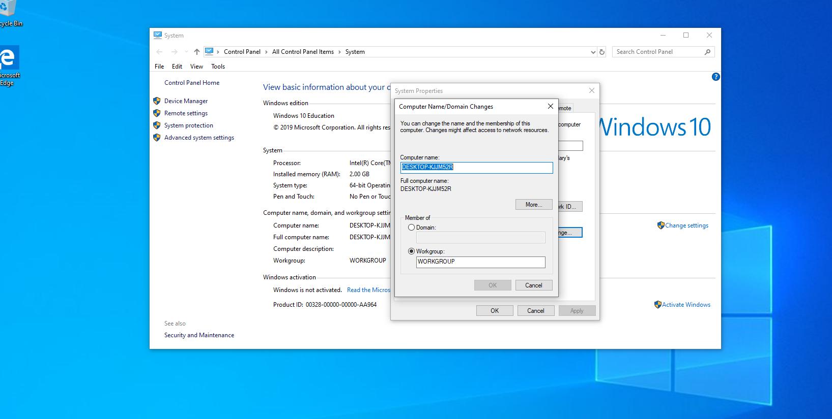 قابلیت های شبکه در ویندوز 10
