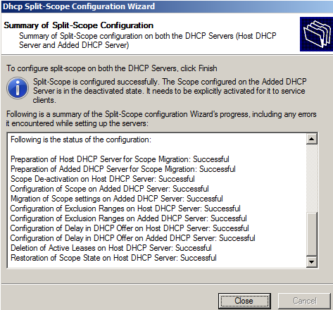 آموزش پیاده سازی قانون 80/20 در DHCP Server