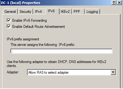 IPv.6 Tab