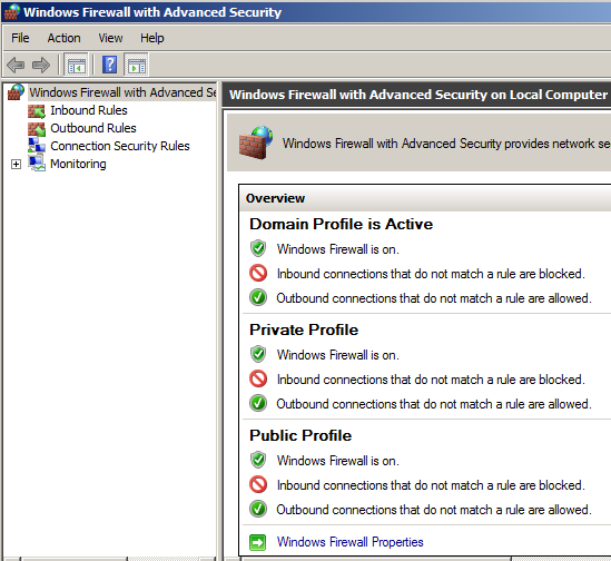 آموزشتنظیمات Advanced Setting Firewall