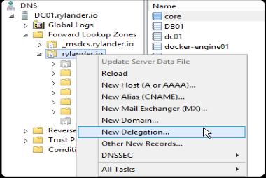 آموزش پیکربندی Delegation در DNS