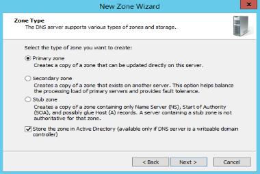 آموزش پیکربندی AD Integrated Zone در DNS